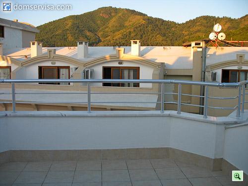 Балконы большие