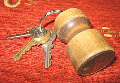 Ключи от номера отеля Сореа Любовня в Словакии
