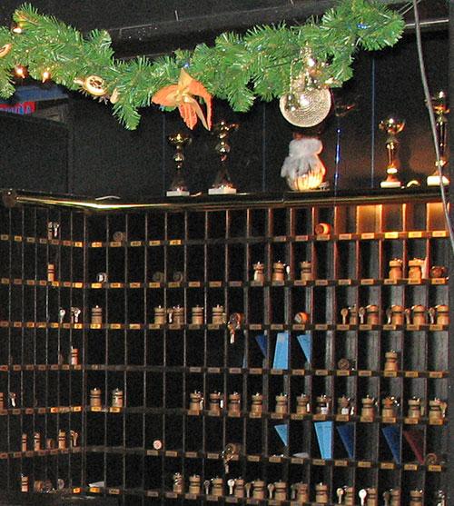 Ячейки для ключей и паспортов в отеле Sorea Lubovna