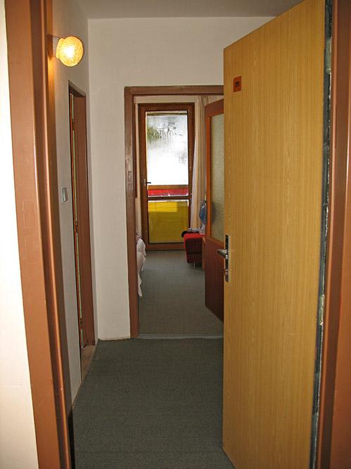 Вход в номер отеля Sorea Lubovna Словакия
