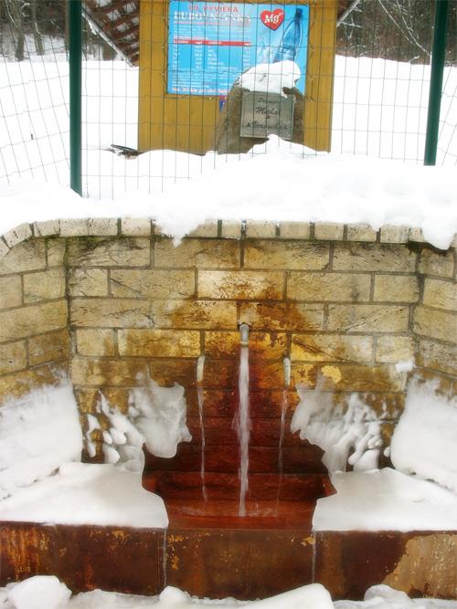 Обработанная минеральная вода с газом