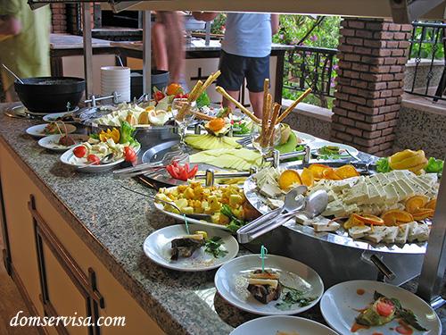 Разнообразный турецкий сыр