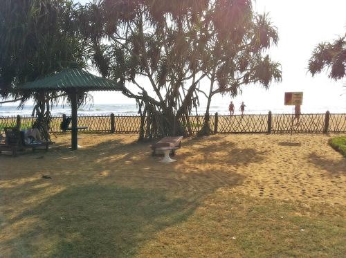 Муниципальный пляж отеля Tangerine Beach