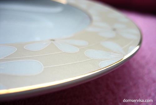 Фарфоровая тарелка Waldenburg