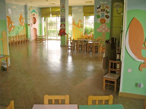Детская игровая комната в отеле Tiran Island